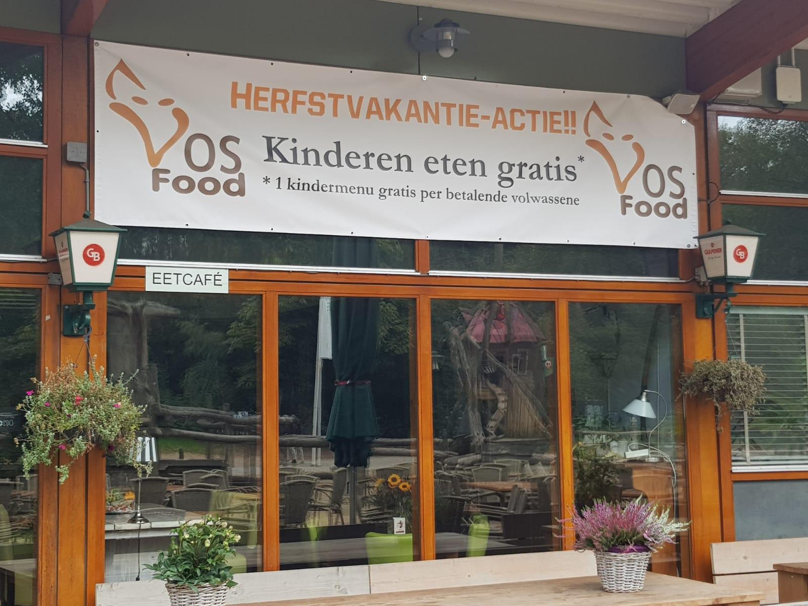 Herfstvakantie Actie Kinderen Eten Gratis